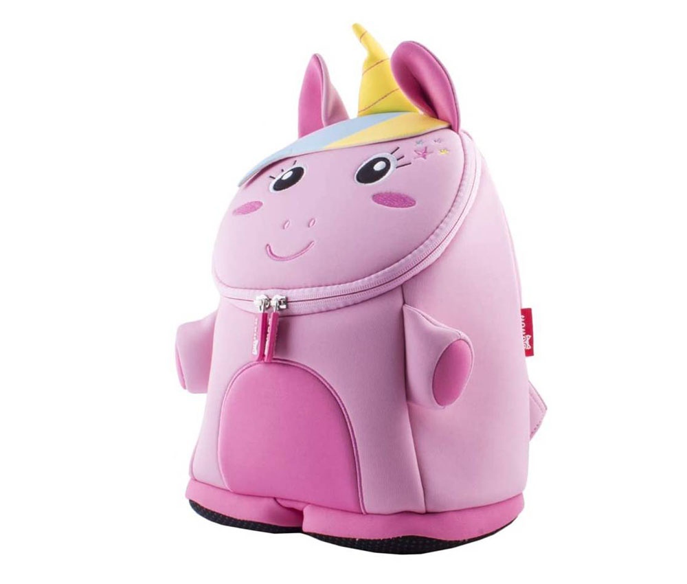 Mochila escolar para niños BINGONE Unicornio