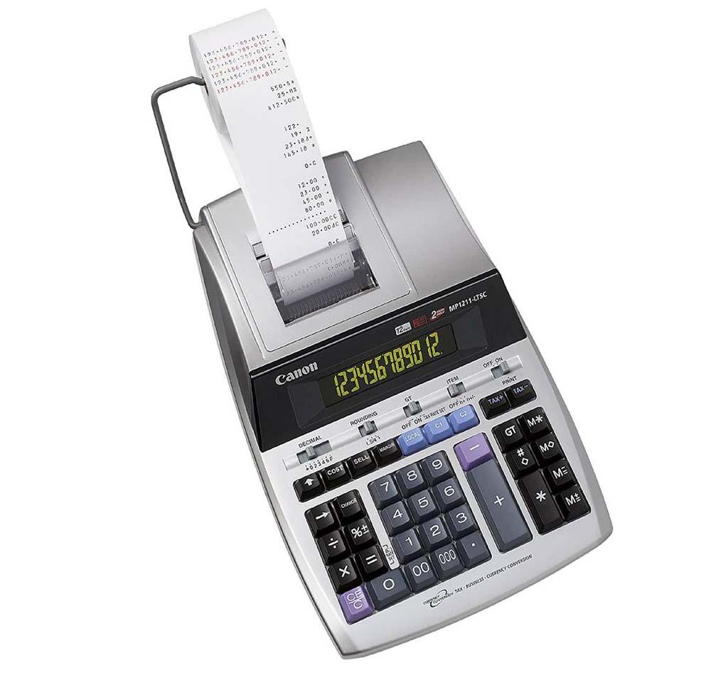 Calculadora con impresora Canon MP1211-LTSC