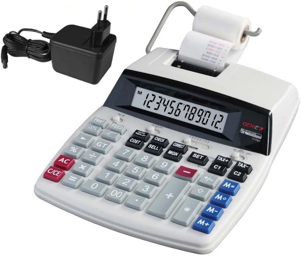 Calculadora con impresora Genie D69 Plus