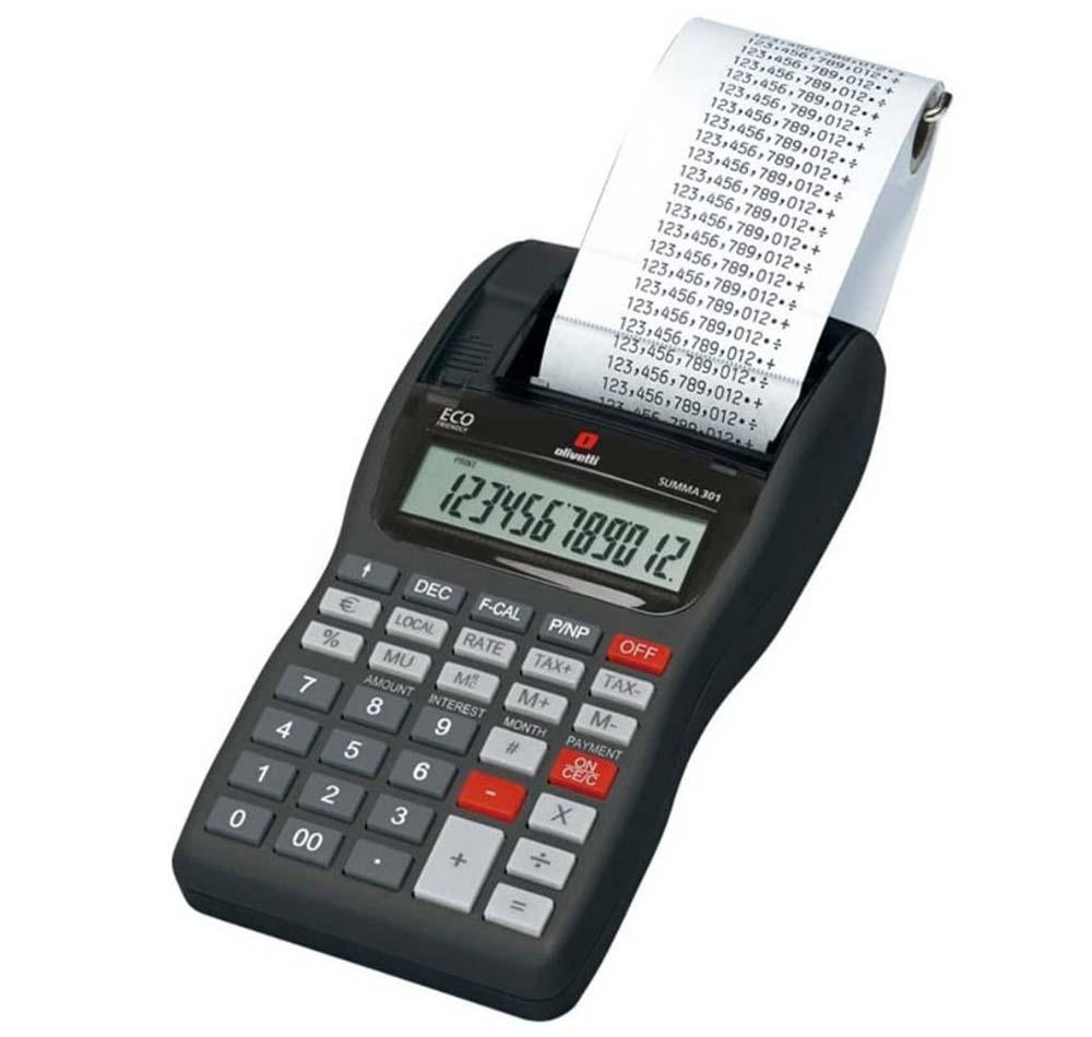 Calculadora con impresora Olivetti B3312000