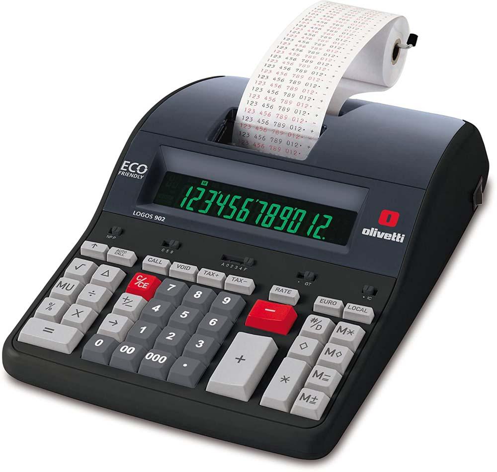 Calculadora con impresora Olivetti LOGOS 902