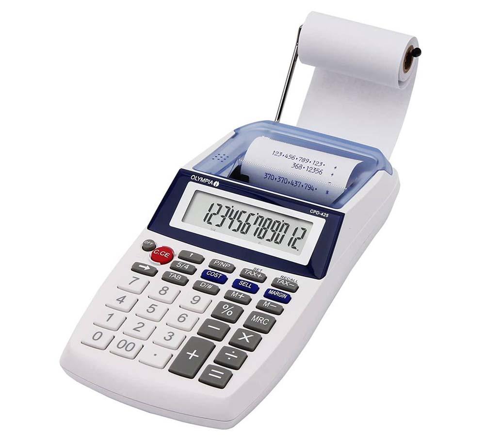 Calculadora con impresora Olympia CPD 425