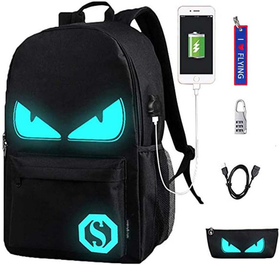 Mochila escolar juvenil WYCY Anime Cartoon