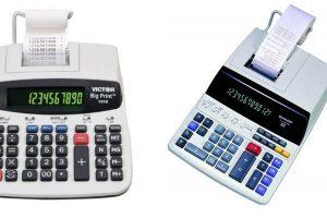 Las 9 mejores calculadoras con impresora